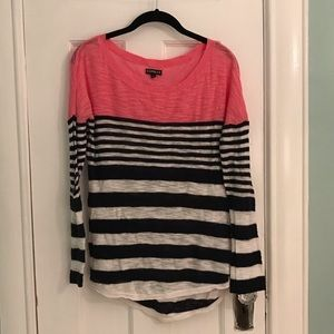 Knit Top with Adjustable Sleeve Length